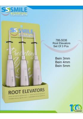 Root Elevator Set Of 3 Pcs