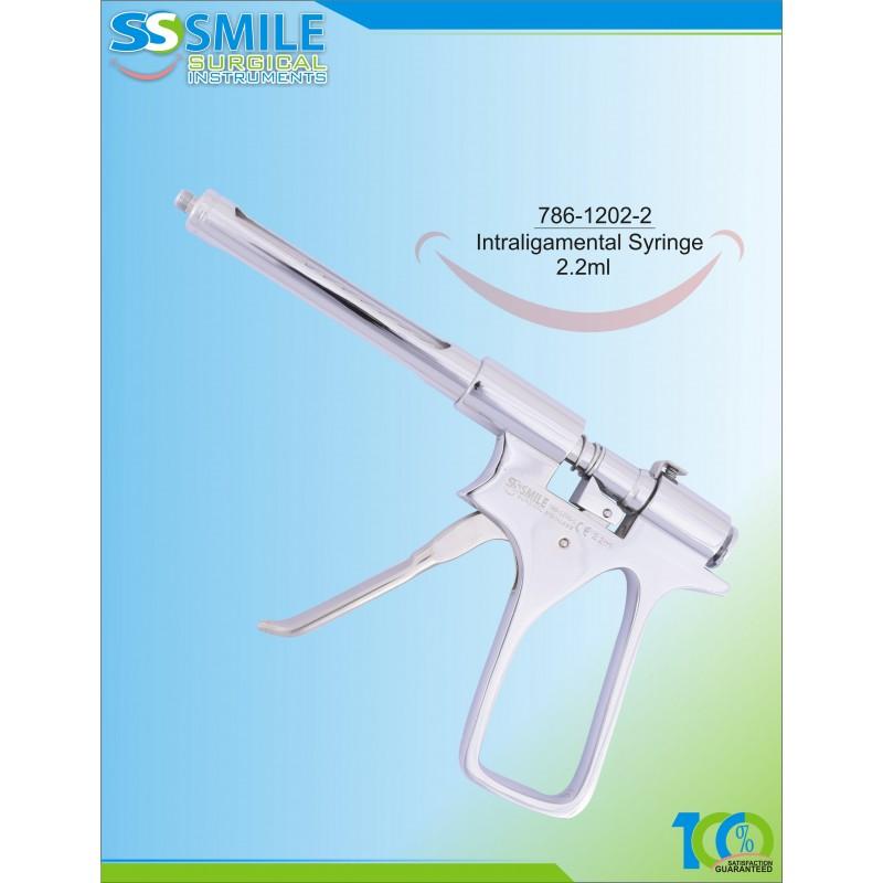 Intraligamental Syringe 2 2 ml (U K & Ireland Standard Size) I Smile