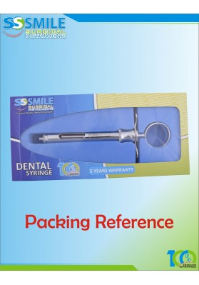 Dental Syringe 1.8 ml (EU Standard Size)