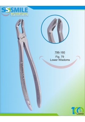 Extracting Forcep English Pattern Fig. 79 Lower Wisdoms