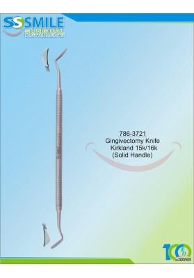 Gingivectomy Knife Kirkland 15k/16k (Solid Handle)