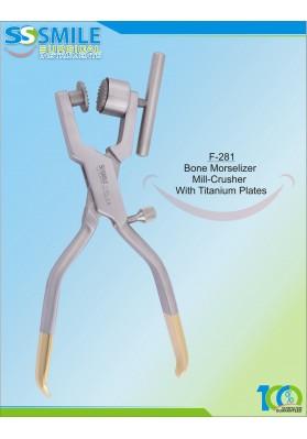 Bone Morisilizer Mill-Crusher With Titanium Plates