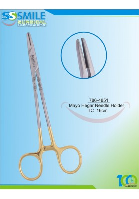 Mayo Hegar Needle Holder TC 16cm