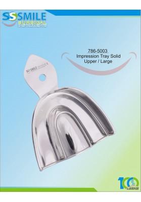 Impression Tray (Regular Pattern) Solid Upper / Large